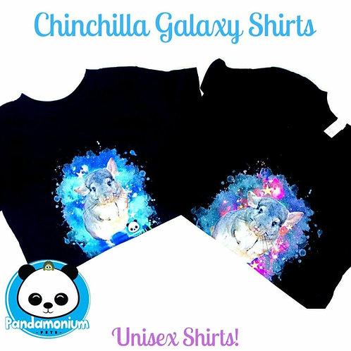 Chinchilla Galaxy Shirts- Unisex-Kid and Adult sizes