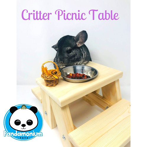 Critter Picnic Tables