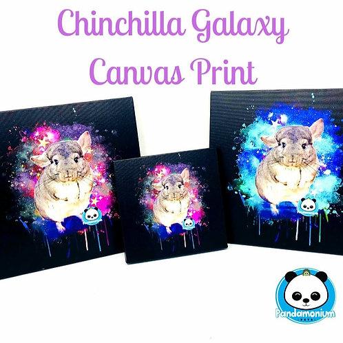 Chinchilla Galaxy Canvas Print-Chinchilla Poster-Chinchilla Wall Art