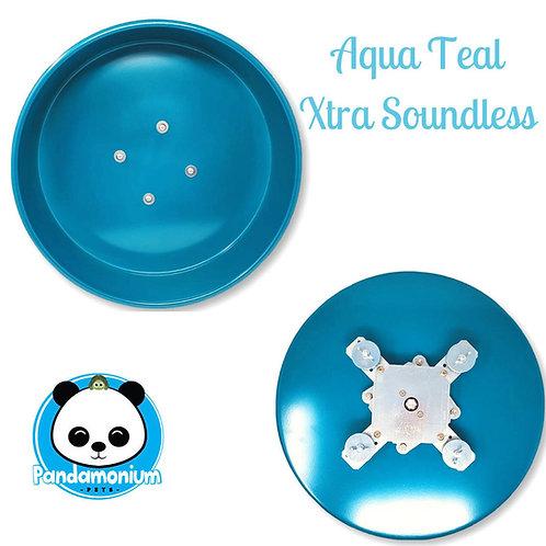 Aqua Teal XTRA Soundless Spinner- Xtremely LIGHT! Pandamonium Petsor