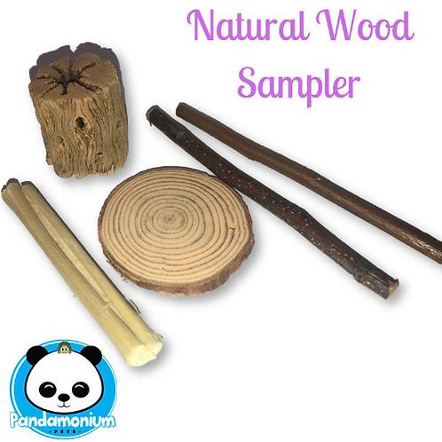 Natural Wood Sampler