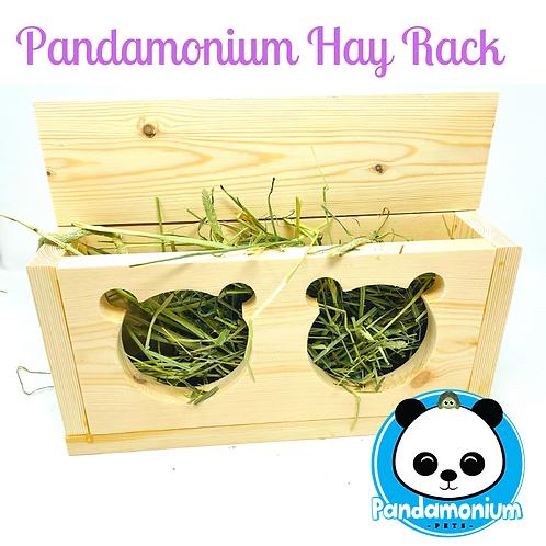 Pandamonium Hay Rack