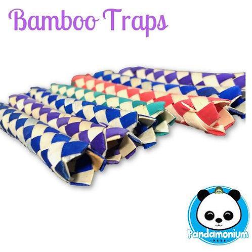 Bamboo Traps- chew toys for chinchillas, rabbits, degus, rats etc.