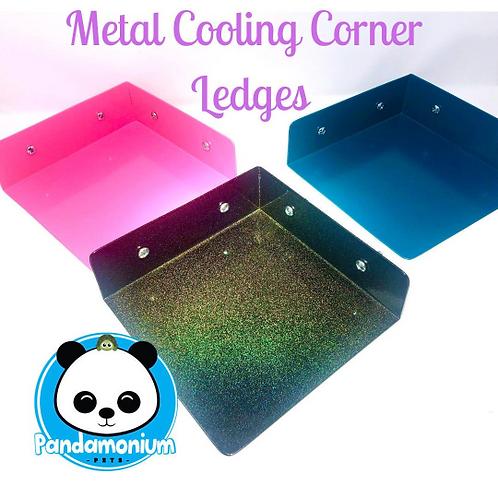 Metal Cooling Corner ledges-For Chinchillas, Degus, Rats