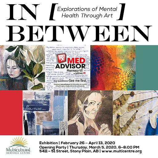 In-Between Mental Health Art Exhibit Mul
