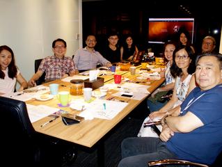 8月份常務理監事聯席會議──大清華傳媒