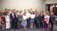 燃點受邀參與2018 全球新世代領袖論壇──台北國際會議中心