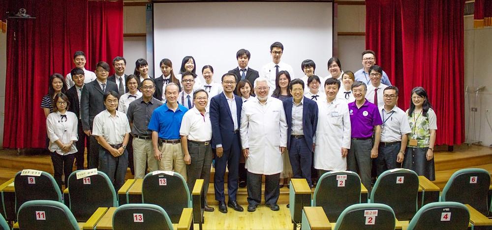 嚴長壽與蔡致中對談大師講堂──台北市立聯合醫院