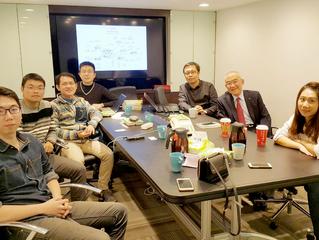 公務員改革聯盟拜訪燃點公民平台──公門菜鳥飛專案會議