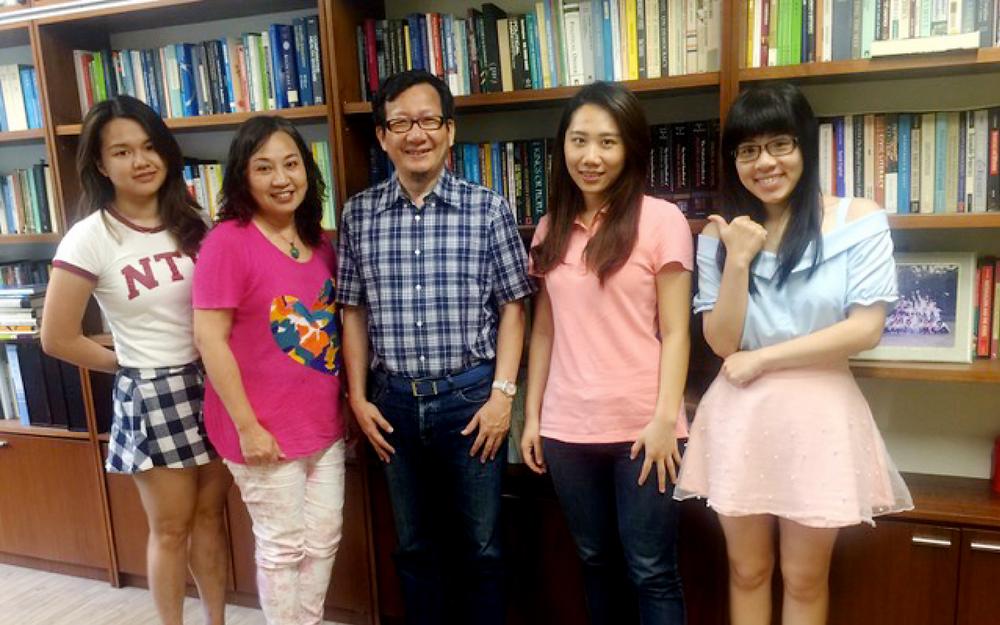 拜會林國明教授──台大社會系館