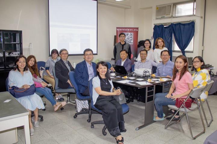 天使基金、第二人生專案會議──燃點418辦公室