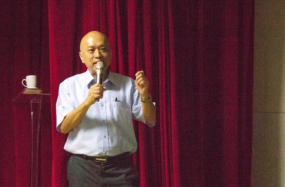 燃點拜會台新銀行文化藝術基金會董事長鄭家鐘──自由公民站出來