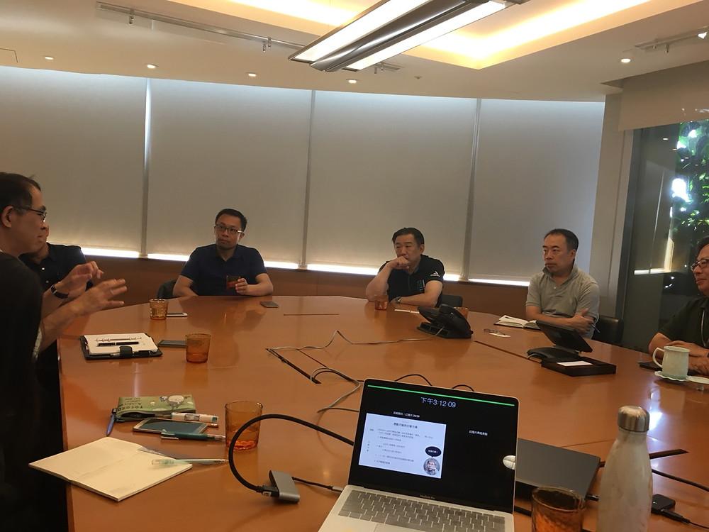 終點讚專案決策會議 ──永豐金總經理會議室