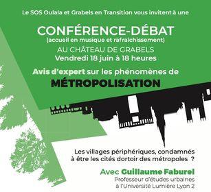 Une conférence-débat sur les métropoles, Montpellier et le LIEN, juin 2021