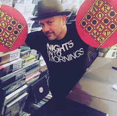 Louie Vega rocking the Afromats
