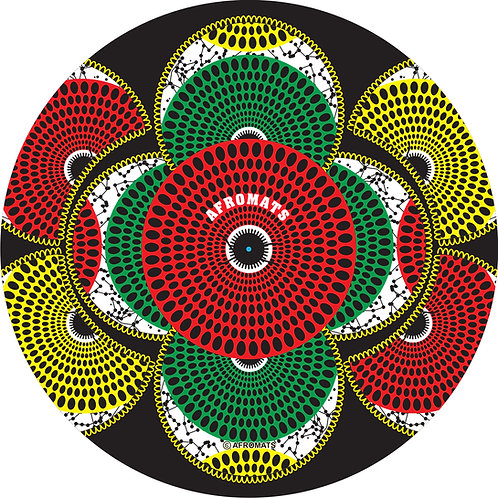 "12"" vinyl record slipmat KALABASH (Black)"