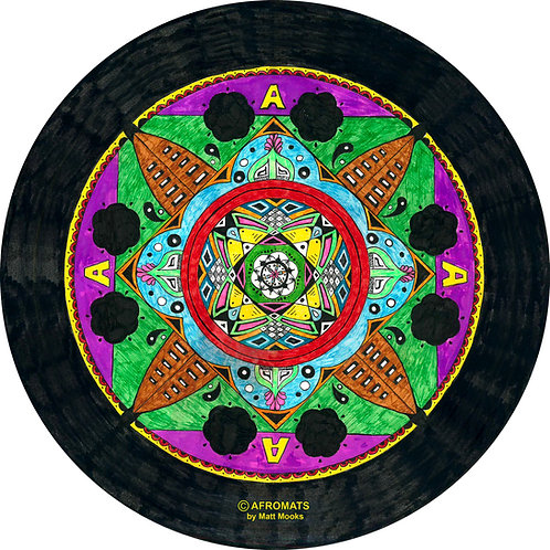 Art on a Slip - MANDALA 1 - By Matt Mooks