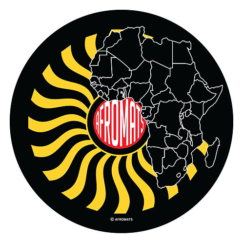 "12"" vinyl record slipmat SUNRAY"