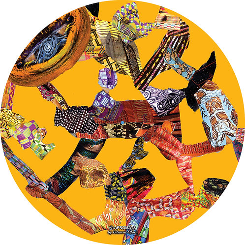 Art on a Slip - TOGETHER - By Edward Ofosu