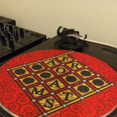 Checkers Vinyl Slipmat