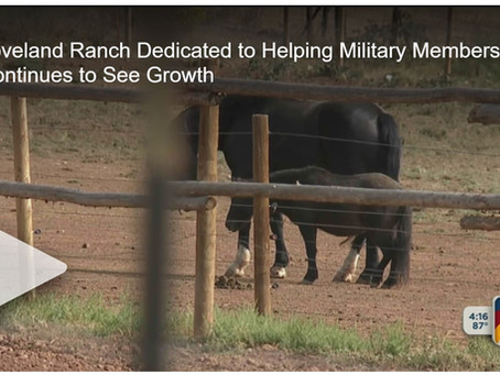 """Loveland ranch dedicated to helping veterans heal wants to expand"""