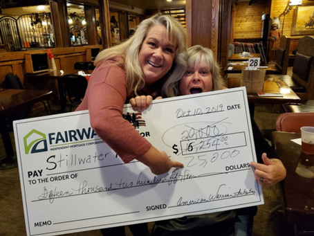 AMERICAN WARRIOR INITIATIVE AND FAIRWAY MORTGAGE DONATE BIG TO STILLWATER RANCH