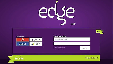 Links to Edge Staff page