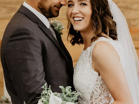 A Beautiful Small Town Wedding!