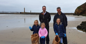The Fusco family team up for MCS Great British Beach Clean