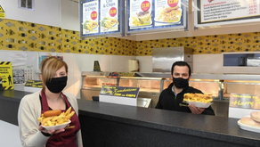 Skegness chippy offers half price meals through February