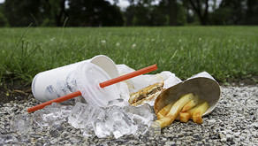 McDonald's removes packaging to highlight littering