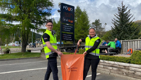 Highland chippy launches local litter picking campaign
