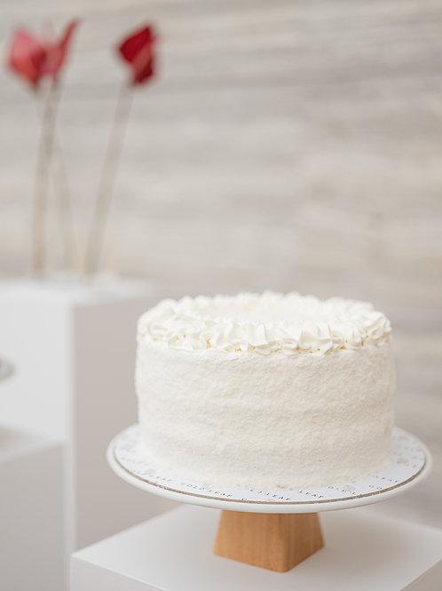 Coconut & White Chocolate Cake
