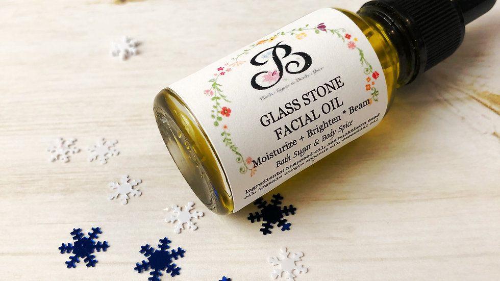 Glass Stone Facial Oil