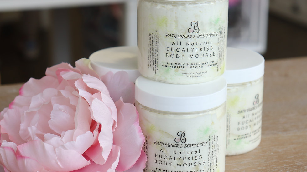 Natural Eucalypkiss  Body Mousse