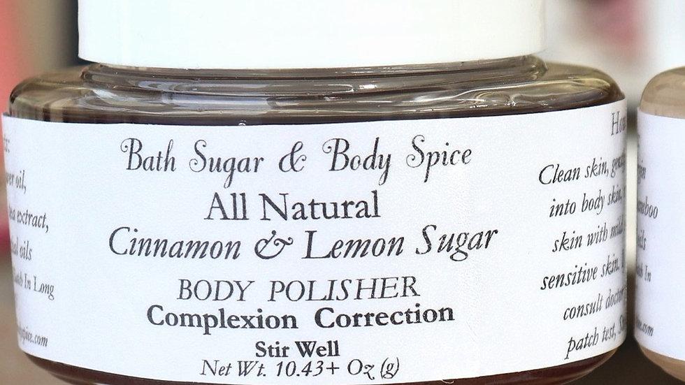 Cinnamon & Lemon Body Polisher