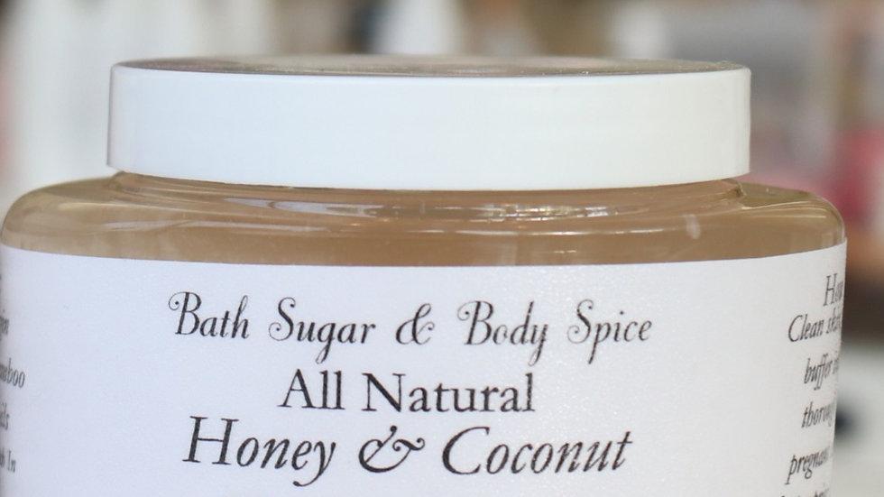 Honey & Coconut Body Polisher