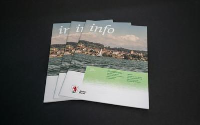 Infoblatt der Stadt Murten