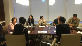 北京企业家访问摩根士丹利