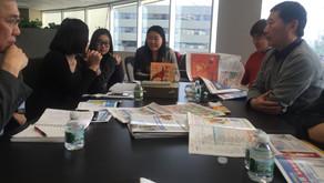 北京西城区商业联合会访问世界日报