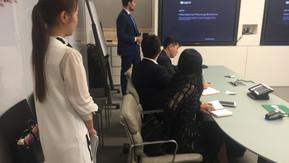 中国人民大学EMBA高管团访问NFP资产管理公司