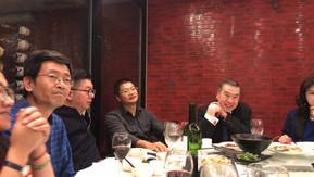 邀请莫虎大律师宴请张青松大律师访问团