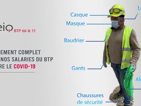 COVID 19 - équipement de nos salariés