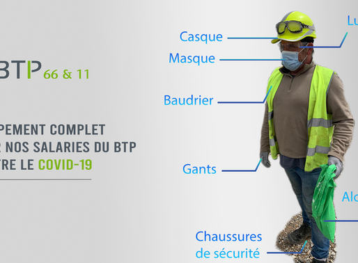 Équipement des intérimaires du BTP / COVID-19
