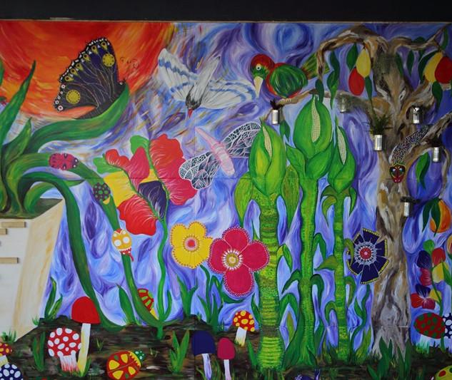 Our Kitchen Garden Mural 2013