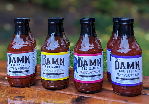 Sauce 8 Pack - Free Shipping
