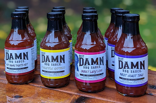Sauce 12 Pack - Free Shipping