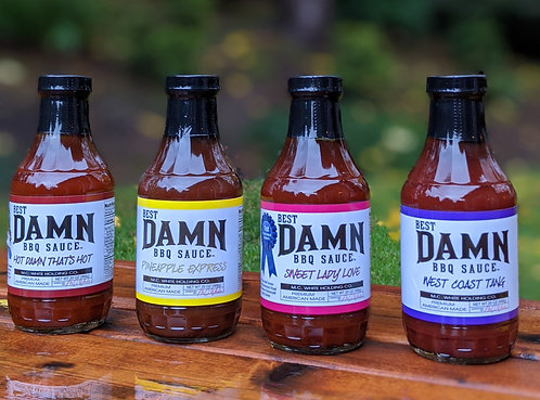 Sauce 4 Pack - Free Shipping