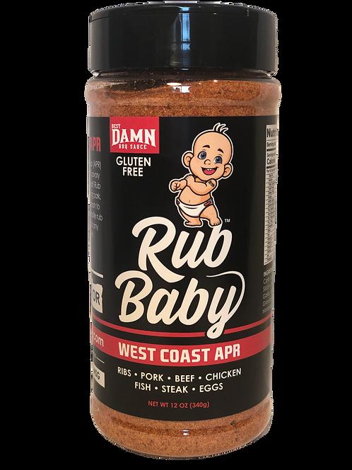 Rub Baby West Coast APR -  12 OZ