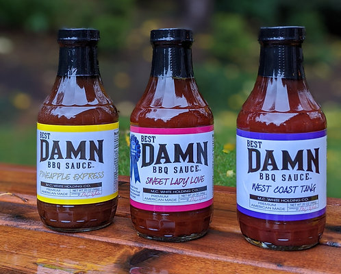 Sauce 3 Pack - Free Shipping
